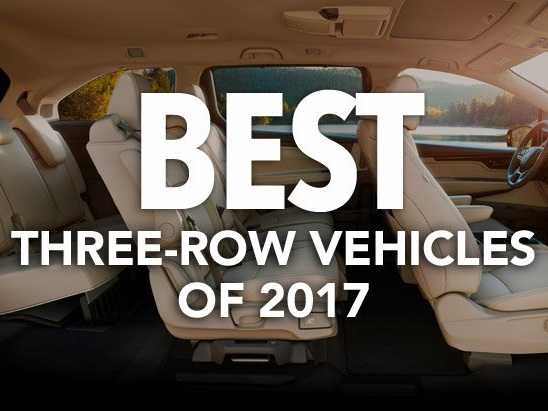 Best Three-Row Vehicles of 2017: Consumer Reports