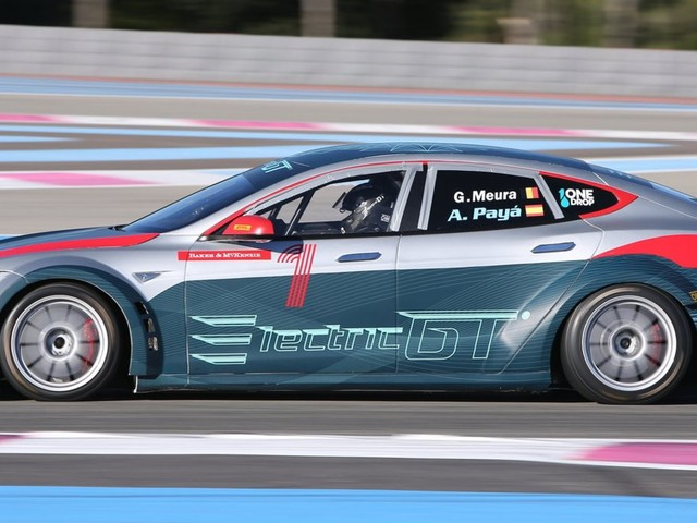 This company turned the Model S into the first official Tesla race car
