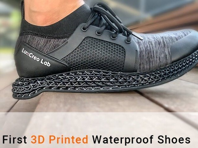 Waterproof 3D-Printed Shoes - The 'Bisca360' Shoe are High-Tech and Ultra-Resilient (TrendHunter.com)