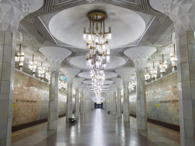 One of the world's most beautiful subway systems was illegal to photograph until last year — take a look inside