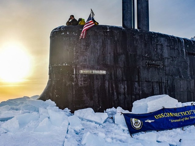 With Russia keeping watch, US Navy subs ventured back to the high north to train where there's 'no safe haven'
