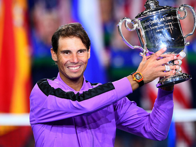 Sport shorts: Nadal, Andreescu, WSL and Ireland are the weekend's big winners