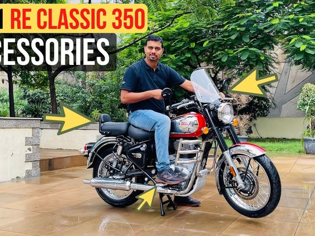 2021 Royal Enfield Classic 350 Accessories' Prices Announced – Details