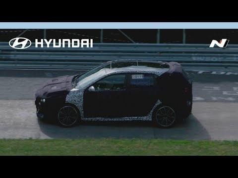 Hyundai i30N Nürburgring video released ahead of 13 July reveal