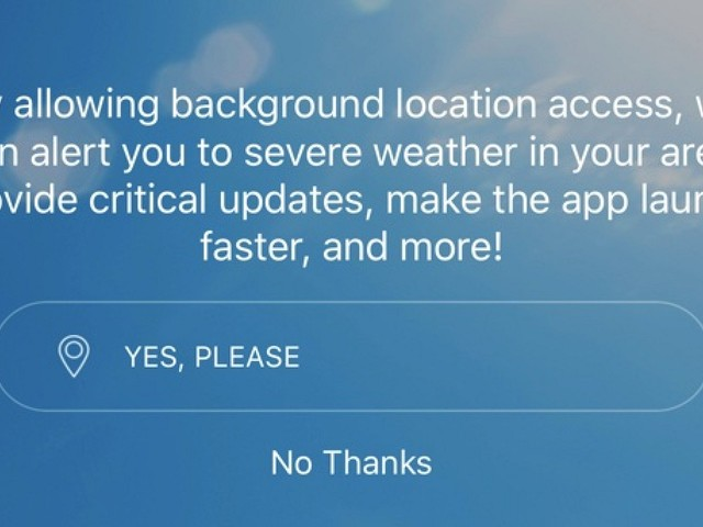 AccuWeather for iOS Sending Location Data to Monetization Company Even When Location Sharing is Off