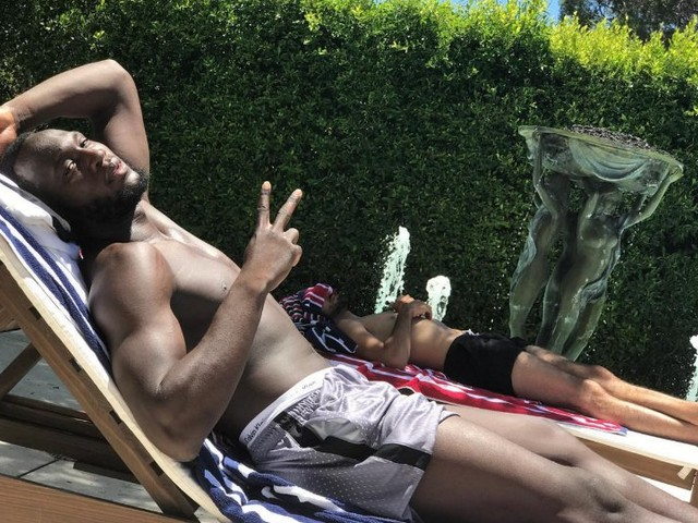 Photo: Romelu Lukaku relaxed about his future amid Chelsea, Man United link