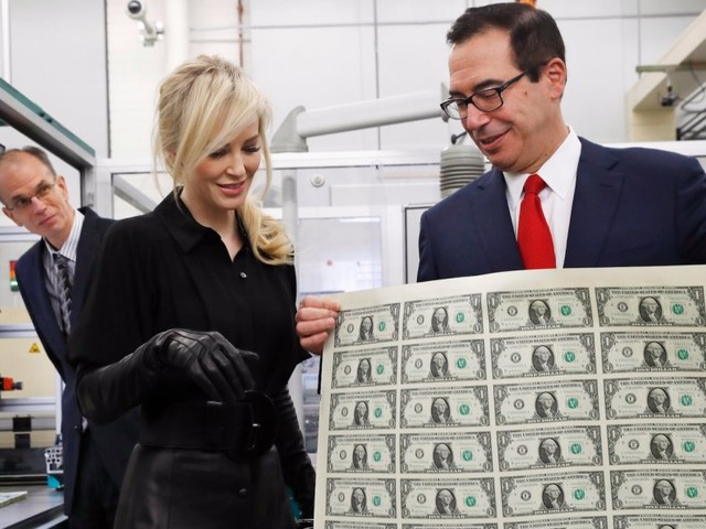 Democrats use viral Steven Mnuchin photo to troll Republicans on tax bill