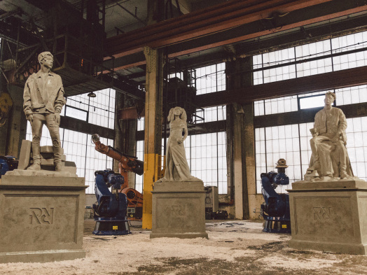SZA, 21 Savage, Metro Boomin Named RapCaviar's Pantheon Artists: See Video of Statues Being Created (EXCLUSIVE)