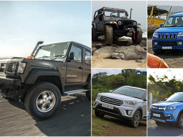Top 10 SUVs In India Under Rs. 12 Lakh