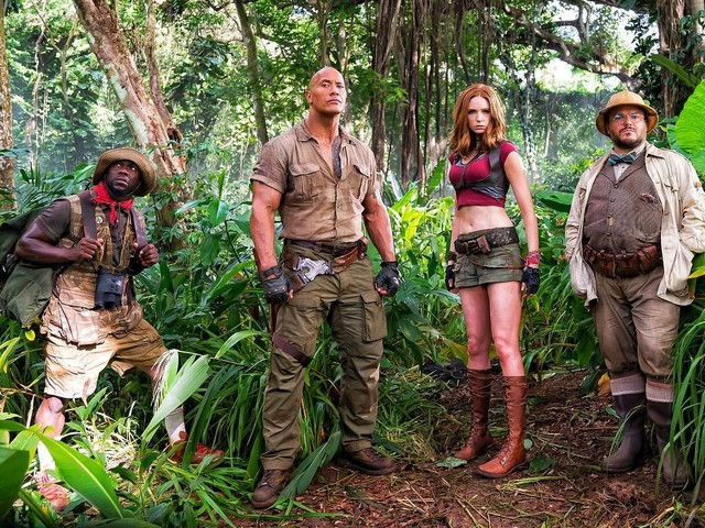 'Jumanji: Welcome to the Jungle' Unleashes 2 New Trailers Featuring Cake and Explosions