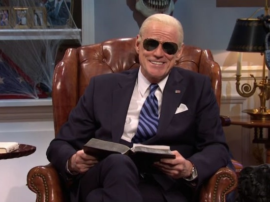 'SNL': Jim Carrey's Biden Hopes We 'Gain an Hour and Lose a President' for Daylight Savings (Video)