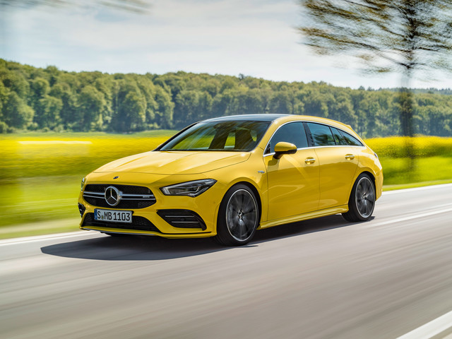 Mercedes-AMG CLA35 Shooting Brake – hot wagon squares up to Golf R Estate