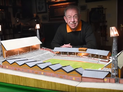 Model Supporter: Wolves Fan Builds Mini Molineux Stadium Entirely Out Of Matchsticks (Photo & Video)