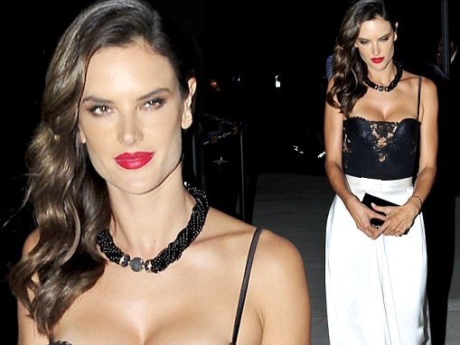 Alessandra Ambrosio puts on busty display