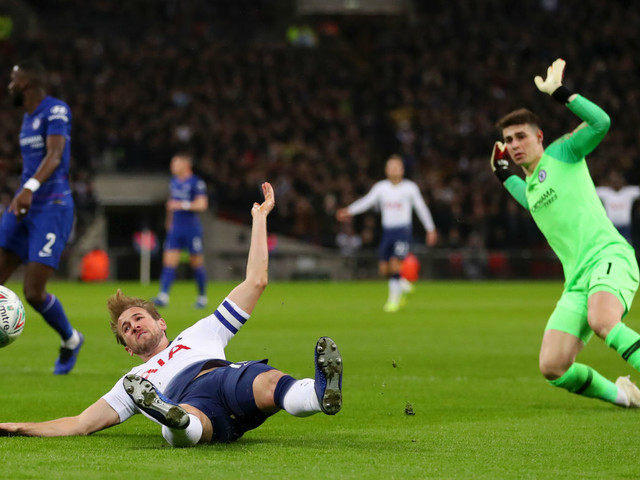 Spurs seal controversial win against Chelsea after Harry Kane's VAR penalty