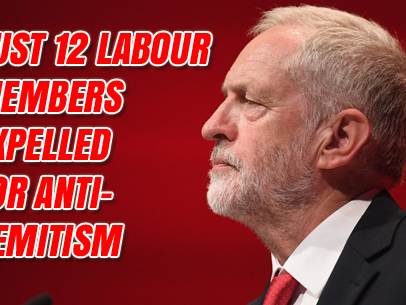 Labour Have Only Expelled 12 Members Over Anti-Semitism