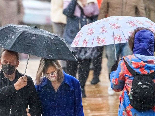 Brits braced for heavy rain and flooding with four inches to fall in two days