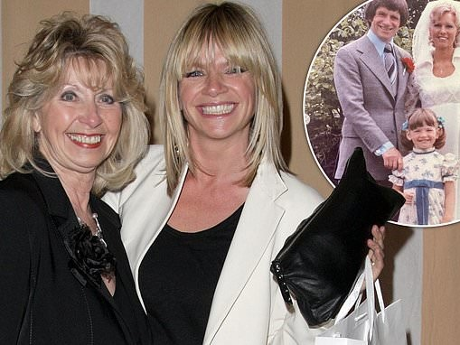 Zoe Ball pens heartwarming message to her stepmother Dianne on her 70th birthday