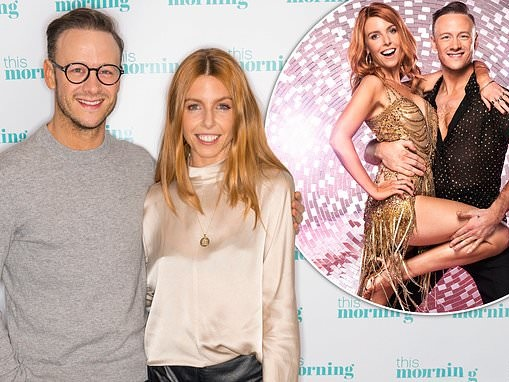 Kevin Clifton admits he's 'jealous' of girlfriend Stacey Dooley being back at work