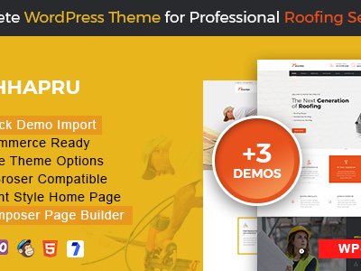 Chhapru - Repairing WordPress Theme (Business)