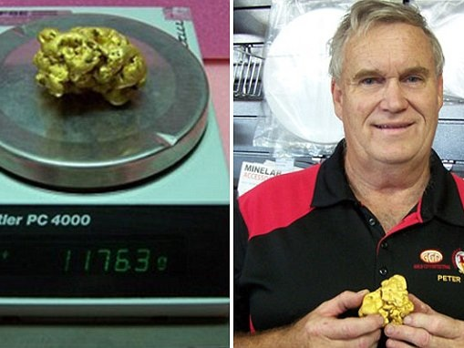 Prospector finds enormous gold nugget worth $63,000