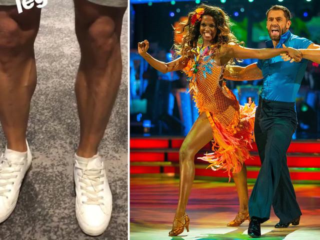Strictly's Kelvin Fletcher left red-faced after only shaving ONE leg for dancing debut