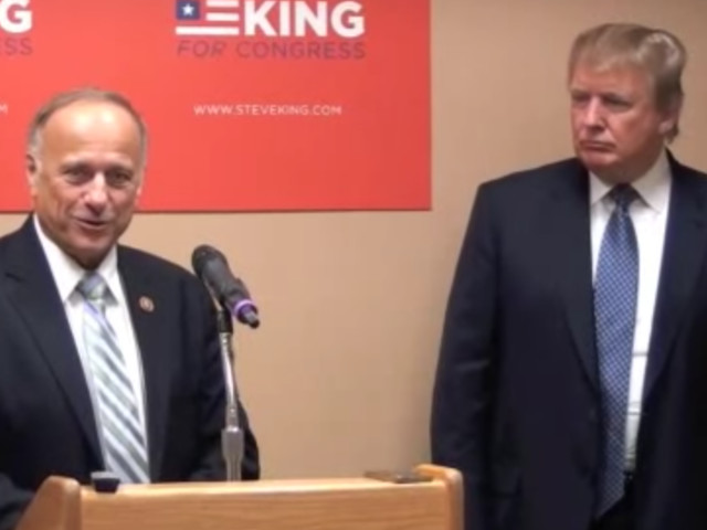 Steve King's Anti-Immigrant Comments Aren't New. But His Support In The White House Is.