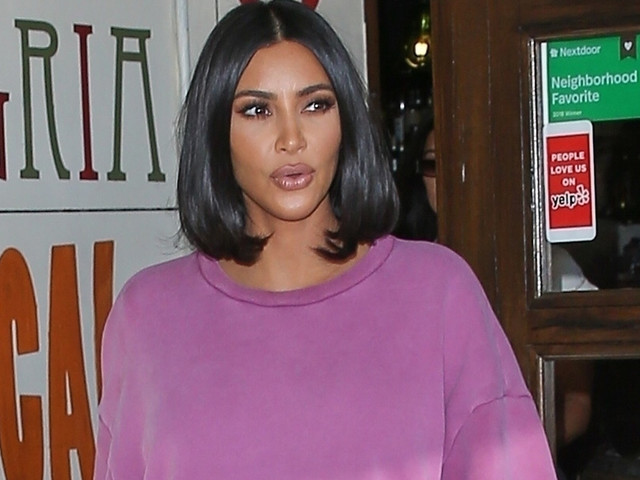 Kim Kardashian Returns Home Following Her Trip To The White House