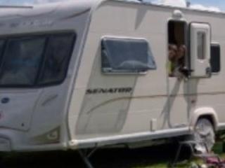 Water hook up caravan