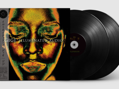 Time Capsule announces the first vinyl reissue of Illuminated Audio by Gigi