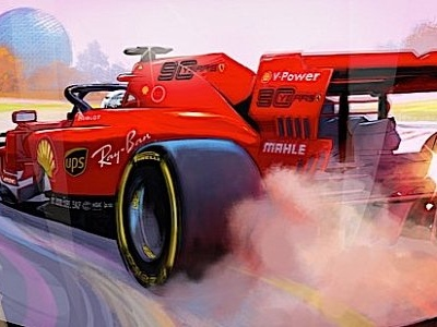 Ferrari's 2019 Formula 1 Posters Are Much Better Than the Team's Results
