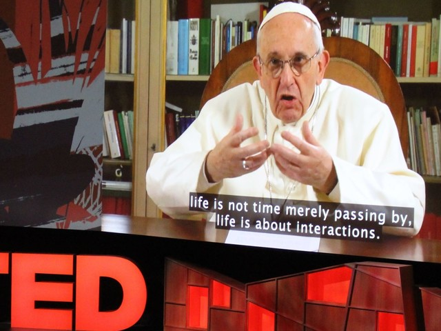 Pope Francis Calls For 'Revolution Of Tenderness' In Surprise TED Talk