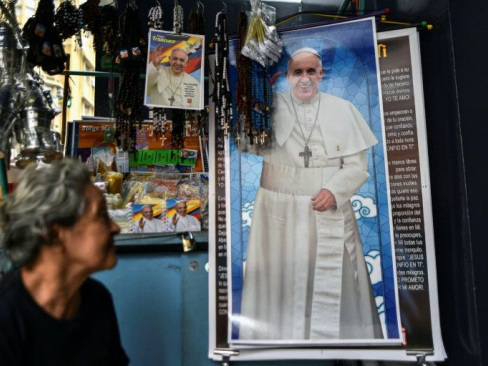 Pope heads to Colombia as defender of peace