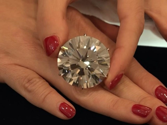 110-carat diamond up for auction at Sotheby's