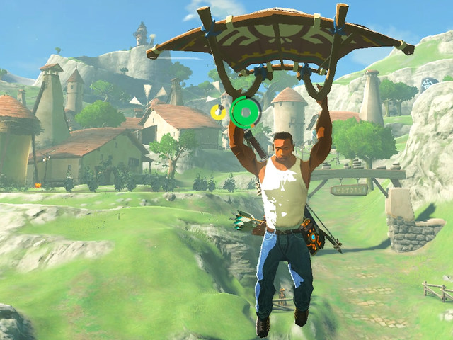 One thing emulated Zelda: Breath of the Wild lets you do that the Switch original cant: play as GTA: San Andreas' CJ