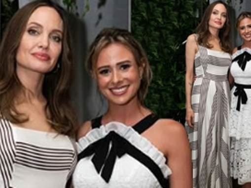 Love Island star Camilla Thurlow shocks fans as she posts snap of her partying with Angelina Jolie