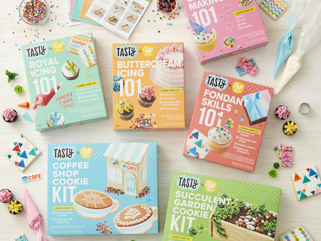 Playful Food-Decorating Kits - Wilton and Tasty Created Skill-Building Decorating Kits for Gen Z (TrendHunter.com)
