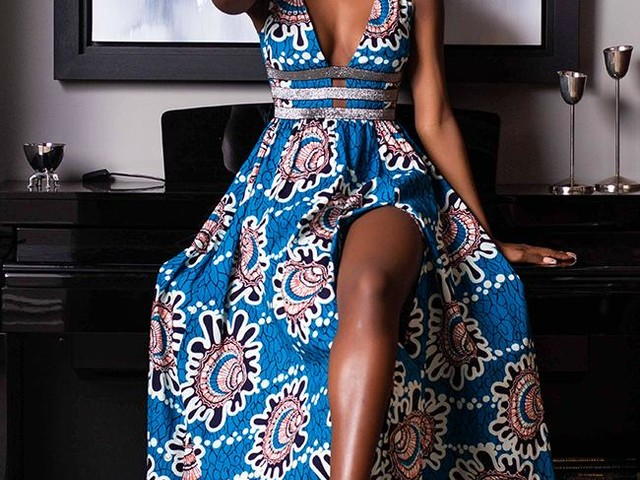 African Dresses | African Print Midi and Maxi Dress Collection L'AVIYE