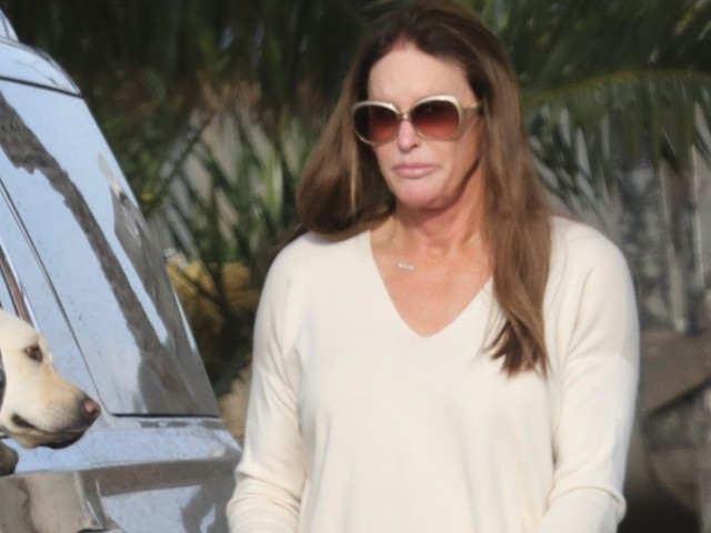 Caitlyn Jenner Heads Out After Valentine's Day Dinner With Sophia Hutchins