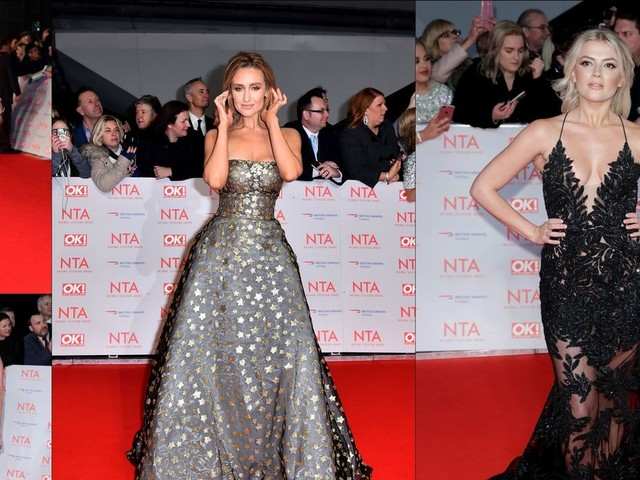 Stars ramp up the glamour and turn heads at the National Television Awards