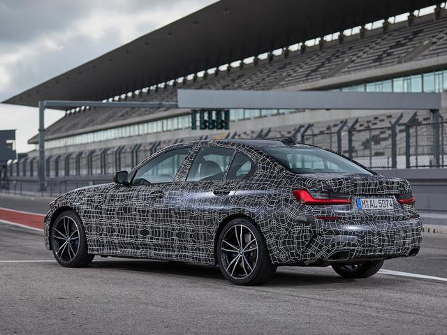 BMW 3 Series M340i xDrive 2019 prototype review