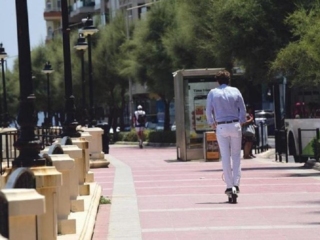 Sliema council irked by bikes and scooters on promenade