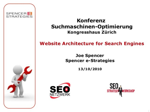 Website Architecture for Search Engines - slideshare.net