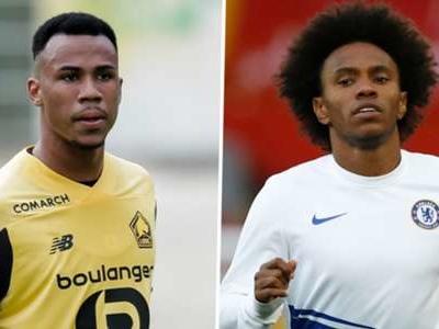 Arsenal join Man Utd in race for Lille centre-back Gabriel Magalhaes as Willian deal edges closer