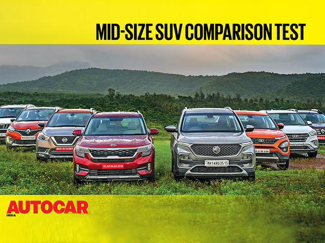 Review: Kia Seltos & MG Hector vs every rival video comparison review