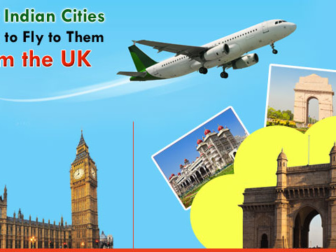 Major Indian Cities and How to Fly to Them from the UK