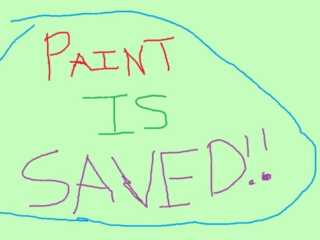 Microsoft will save Microsoft Paint, making it a downloadable app