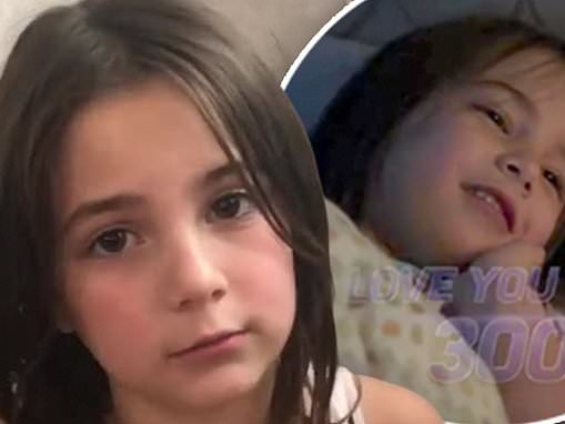 Avengers actress Lexi Rabe, seven, pleads on Instagram: 'Please don't bully my family or me'
