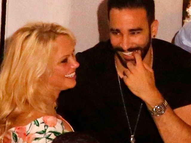 Pamela Anderson opens up about relationship with France international Adil Rami