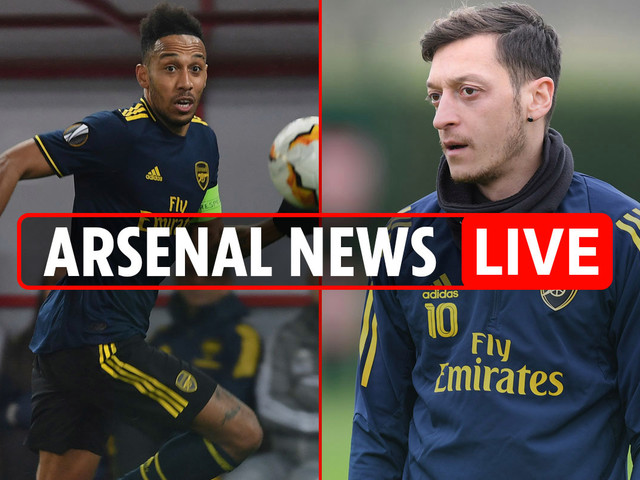 5pm Arsenal news LIVE: Aubameyang transfer LATEST, Arteta eyes TRIPLE Spanish swoop, Ozil UPDATE, Premier League claim